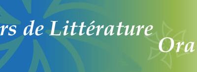 Les Cahiers de Littérature Orale